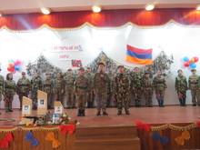 Իջևանի թիվ 4 հիմնական դպրոցում նշվեց Բանակի օրը
