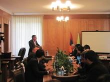 Հանդիպում-քննարկում Դիլիջանի համայնքապետարանում