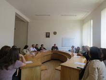 Տեղի ունեցավ հաշմանդամություն ունեցող անձանց հարցերով զբաղվող մարզային հանձնաժողովի  նիստը