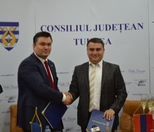 ՀՀ Տավուշի մարզի և Ռումինիայի Տուլչա նահանգի միջև ստորագրվեց եղբայրացման  համաձայնագիր
