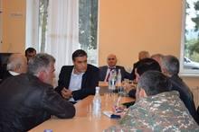 Աշխատանքային այցով Տավուշի մարզում էր ՀՀ մարդու իրավունքների պաշտպանը