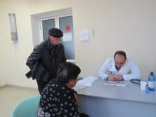 Բարեգործական ակցիայով այսօր Իջևանի բժշկական կենտրոնում էին ,,Էրեբունի,, բժշկական կենտրոնի առաջատար մասնագետները