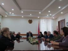 ՀՀ Տավուշի մարզպետ Վահե Ղալումյանն անցկացրեց առաջին աշխատանքային խորհրդակցությունը