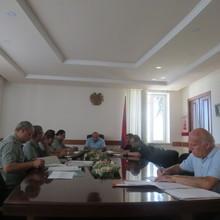 Կայացավ Տավուշի մարզային զորակոչային հանձնաժողովի հերթական նիստը