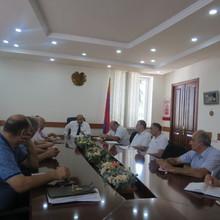 Համայնքային խնդիրները քննարկվել են Նոյեմբերյանի տարածաշրջանի համայնքների ներկայացուցիչների հետ