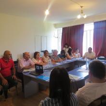 Հաշմանդամություն ունեցող անձանց հարցերով զբաղվող Տավուշի մարզային հանձնաժողովի ընդլայնված նիստում ներկայացվեց ,,Խոսենք նույն լեզվով,, ծրագիրը