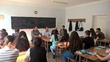 Իրավական թեմայով զրույց-զեկուցում է անցկացվել Իջևանի ավագ դպրոցում