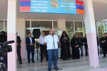 Տավուշի մարզպետ Վահե Ղալումյանը մասնակցել է Կոթիի միջնակարգ դպրոցի անվանակոչության արարողությանը