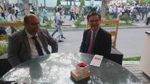 Մարզպետ Վահե Ղալումյանը հանդիպել է Պատրիկ Դևեջյանի հետ