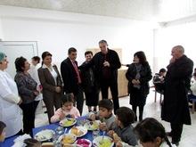 Վերանորոգվել է Տավուշ գյուղի միջնակարգ դպրոցի ճաշարանը