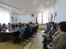 Աշխատանքային հանդիպում՝ Տավուշի մարզում սոցիալական ծրագրեր իրականացնող ՀԿ-ների ներկայացուցիչների հետ