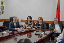 ՀՀ ԱՆ ՊԱԳ-ի ղեկավարության հանդիպումը Տավուշի մարզի բուժհիմնարկների ղեկավարների հետ