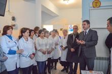Հայկ Չոբանյանը հանդիպել է Աչաջրի «Առողջության կենտրոնի» աշխատակիցների և համայնքի բնակիչների հետ