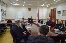 Հանդիպում մարզի Ջրօգտագործողների ընկերության պատասխանատուների հետ