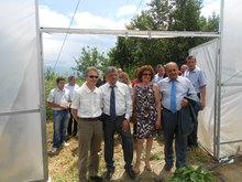 Ջերմոցային տնտեսության և ֆերմերային դպրոցի       բացման հանդիսավոր արարողություն Ակնաղբյուր համայնքում