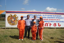 ՙՙԼավագույն մարզական ընտանիք-2013՚՚-ում Տավուշի մարզը  ներկայացնող ընտանիքը գրավել է առաջին տեղ