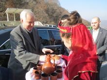 Հայ ժողովրդի վաղեմի բարեկամ Նիկոլայ Ռիժկովը Տավուշի մարզում էր