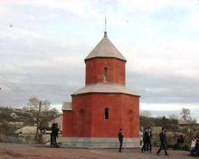 Վերին Կարմիրաղբյուր գյուղում օծվեց Սուրբ Հովհաննես մատուռը