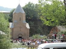 Օծվեց Գանձաքարի Սբ. Գրիգոր Լուսավորիչ եկեղեցին
