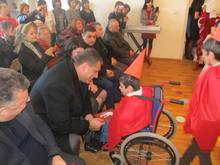 Այսօր Տավուշի մարզպետ Հովիկ Աբովյանը <<Հույսի կամուրջ>> հասարակական կազմակերպության իջևանի երեխայի զարգացման կենտրոնում էր: