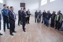 Տարածքային կառավարման և արտակարգ իրավիճակների նախարար Արմեն Երիցյանը երկօրյա աշխատանքային այցով Տավուշի մարզում է