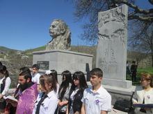 Հուշաքար Ոսկեվանում՝  նվիրված Եղեռնի100-րդ տարելիցին