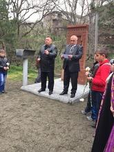 Թեղուտ համայնքում տեղի ունեցավ խաչքարի օծման արարողություն նվիրված Եղեռնի 100-ամյա տարելիցին