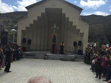 Սուրբ նահատակաց խորանն այսուհետ Իջևանում կլինի  Եղեռնի զոհերի հիշատակը հավերժացնող գլխավոր խորհրդանիշերից մեկը