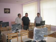 Նոր համակարգչային դասարան  Իջևանի թիվ1 դպրոցում