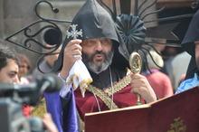 Օծվեց  Գոշավանքի համալիրի սուրբ Աստվածածին եկեղեցու գմբեթի խաչը