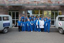 Բարեգործական առաքելությամբ Նոյեմբերյանի բժշկական կենտրոնում են «Գլենդեյլ Ադվենտիստ» բժշկական կենտրոնի մասնագետները