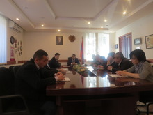 Տեղի ունեցավ աուդիտի կոմիտեի նիստը Տավուշի մարզի բուժհաստատությունների տնօրենների մասնակցությամբ